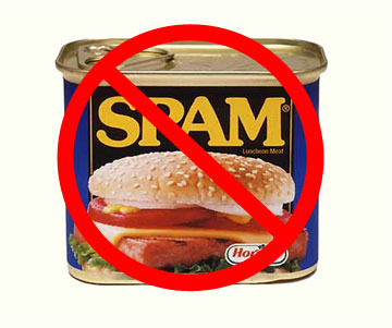 Spam is not good for certain hospitals